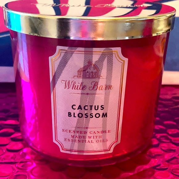 Bath & Body Works Cactus Blossom Candle